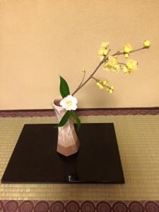 2015初釜 お床花